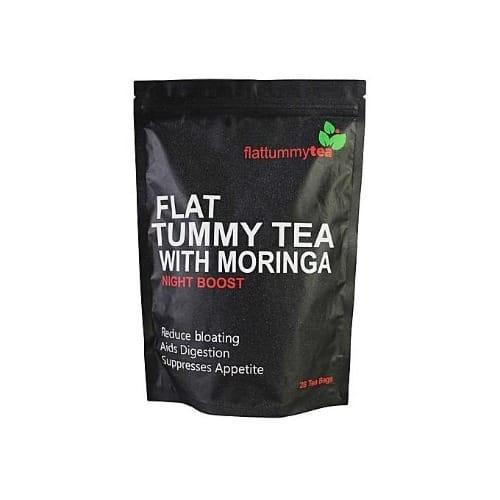 Flat Tummy Tea With Moringa - Night Boost - 28 Tea Bags